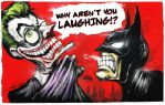 Why aren't you laughing Bruce?! by ShawnCoss