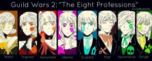 The Eight Professions by GodBlessLiberTea