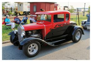 Very Sharp Ford Rod by TheMan268