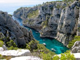 calanque by NeijaZeugme