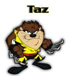 Taz as Wolverine by UNO926
