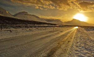 Iceland - follow the sun by PatiMakowska