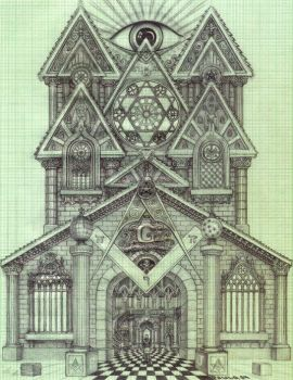 Masonic Cathedral by PauloCunha