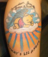 pooh bear tattoo by NeoGzus
