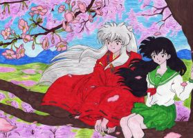 inuyasha e kagome by verri silvia d32ry2j (Pix of models for illustration purpose only)