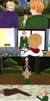 MMD Hetalia - Moments with America and England by PikaBlaze