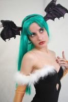 Morrigan Cosplay .-. by TrishFemmeFatale