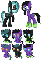 Cityscape X Poison Foals [OPEN] by SuperFancyAdopts