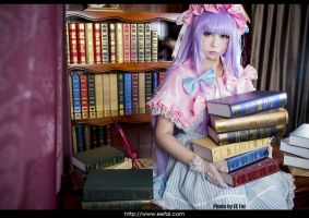 Touhou Project Patchouli Cosplay 02 by eefai