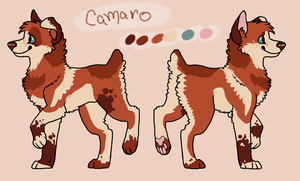 Redesign commission-Camaro by FourDirtyPaws