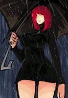 Parasoul by AbyssOkami