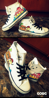 Pirate Chucks by Joorch