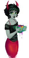 Kanaya and her Rainbow Tea by Kihtra