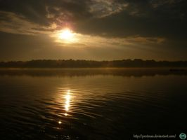 Golden Sunset  1 Tychy by Proteusz