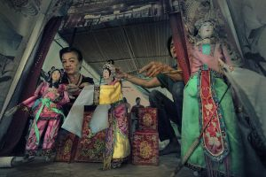 Traditional Asian Retro Hand Puppet Show by SAMLIM
