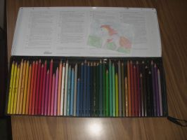 My old pencils by Love-Only-Knows
