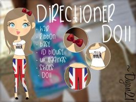 Directioner Doll by Dyan21