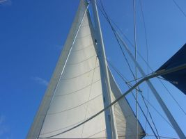 Sails Upon the Blue Sky by SPF2000000