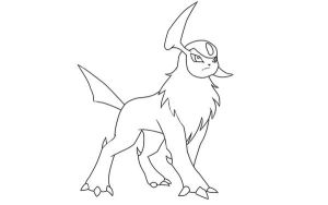 Absol Lineart by LuvsShigaru69