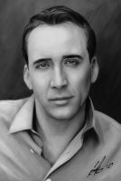 Nicolas Cage by fishboo