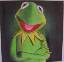 Kermit The Frog by ShawnisMaximus
