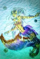 Mermaid for Mermay by chaosqueen122