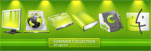 Summer Collection - PNG by Benjigarner