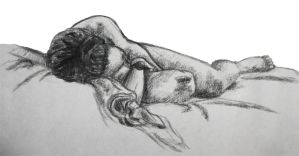 10 min. life drawing 2 by StephieT