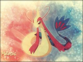 Milotic by xCaliKidx