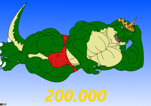 200.000 Pageviews ! by Maxime-Jeanne
