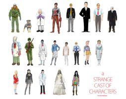 A Strange Cast of Characters by EmilioRodriguez