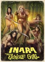Inara The Jungle Girl Poster by WacomZombie