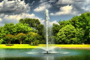 Fountain of Youth - HDR by squishdragon