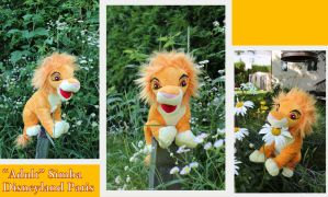 Adult/Teen Simba plush by Aliki by Laurel-Lion