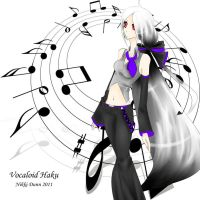Vocaloid Haku Yowane by nikki11anne22