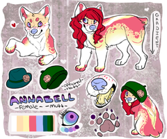 Official Annabell reff by PaintedPeaches