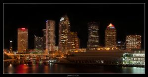 Cityscape Tampa by mycarisfaster