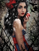 Snow White: A Trickery by Toshimay