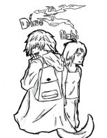 Dino and Habi-Not Official by bubbles1994