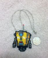 Claptrap - Necklace by PixelPlastik