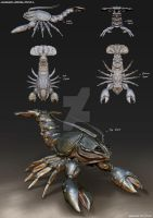 Crustacean Creature 2 by FrostKnight-IcE