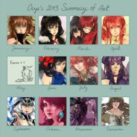 Art Summary 2013 by c-r-y-s