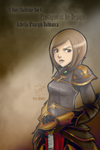 15 days Challenge Day 4 Ashe by Frog-of-Rock