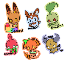Pokecuties 2 (closed) by TechSupportGirls
