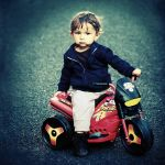 I am a motorcyclist, and you ? by ChristineAmat