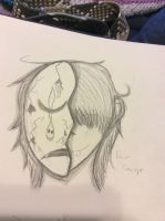 Dominick (Face Concept Sketch) by TorturousDreams