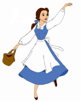 Belle Colored by siquia