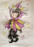 Dimentio Human Version by Jany-chan17