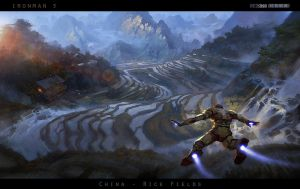[Iron-Man-3]_redsteam_CA_Rice-Fields by 0BO