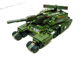 "Lego Sheppard Tank ""Mix"" 1 by SOS101"